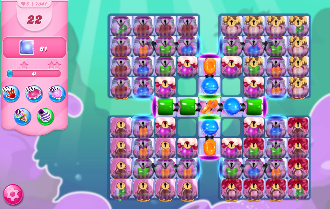 Candy Crush Saga level 7341