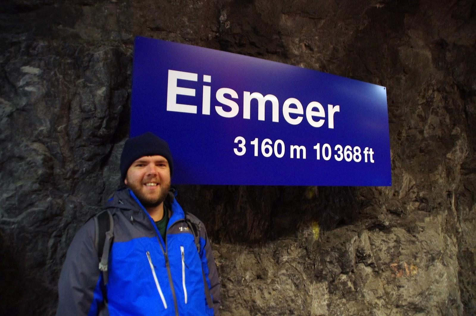 Jungfraujoch Eismeer