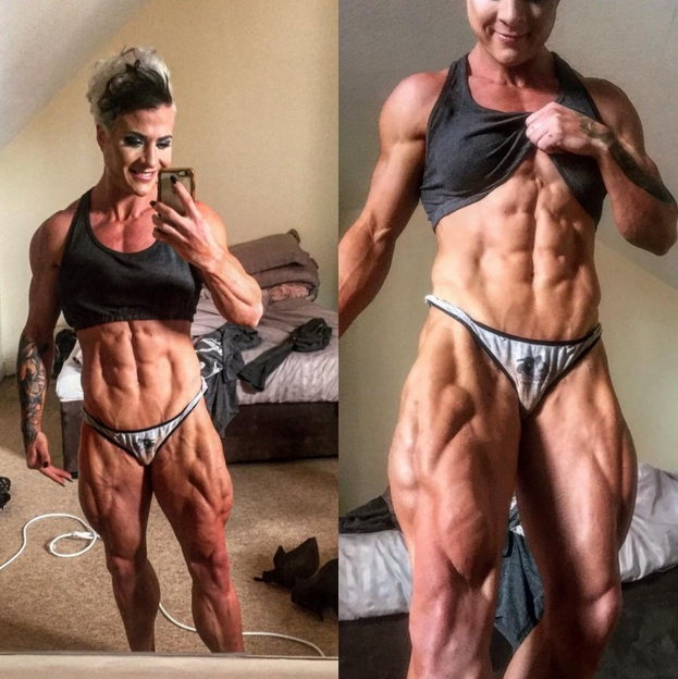 Muscular women are beautiful