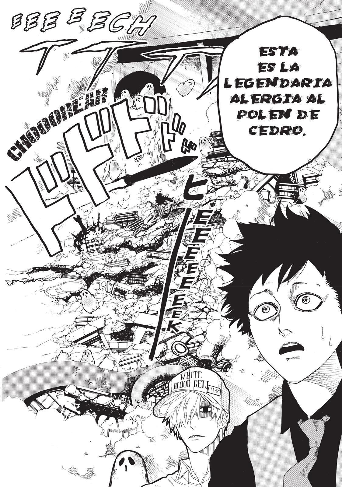 Manga hataraku saibou 2 sub español