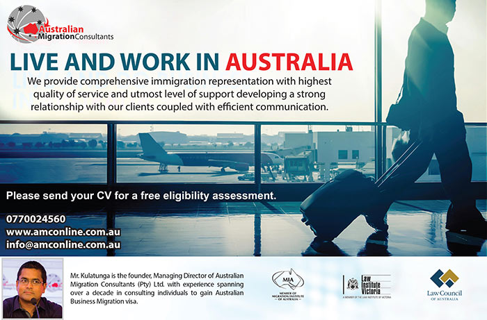You have the opportunity to Live and Work in Australia  Australian Migration Consultants  provide comprehensive immigration representation with the highest quality of Service and the utmost level of support developing a strong relationship with our clients coupled with efficient communication  #amc #australia #migration #liveandwork