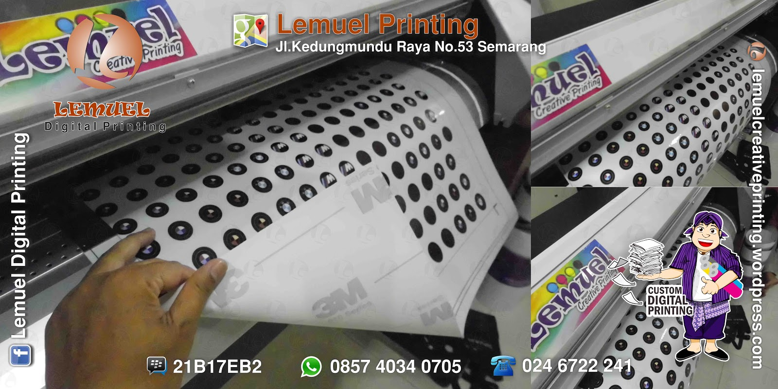 3M Sticker Printing