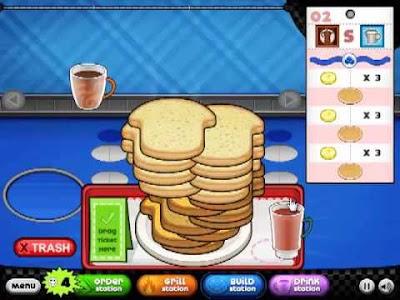 papa's pancakeria game  free