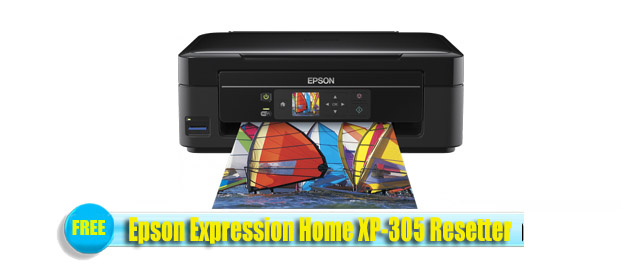 Epson XP-305 Adjustment Program