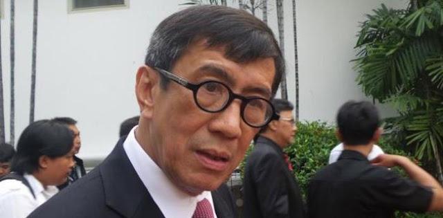 OTT Lapas Sukamiskin, Presiden Diminta Copot Menkumham Yasonna Laoly