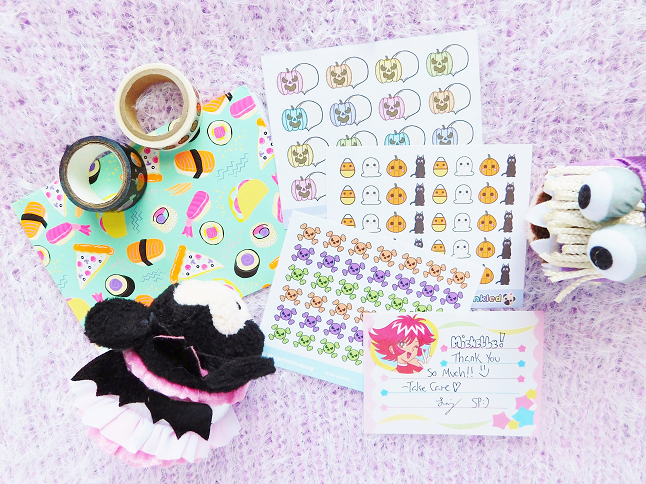 Sprinkle Pug Halloween Stickers