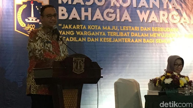 Anies: Saya Ingin Warga Merasa Beruntung Tinggal di Jakarta