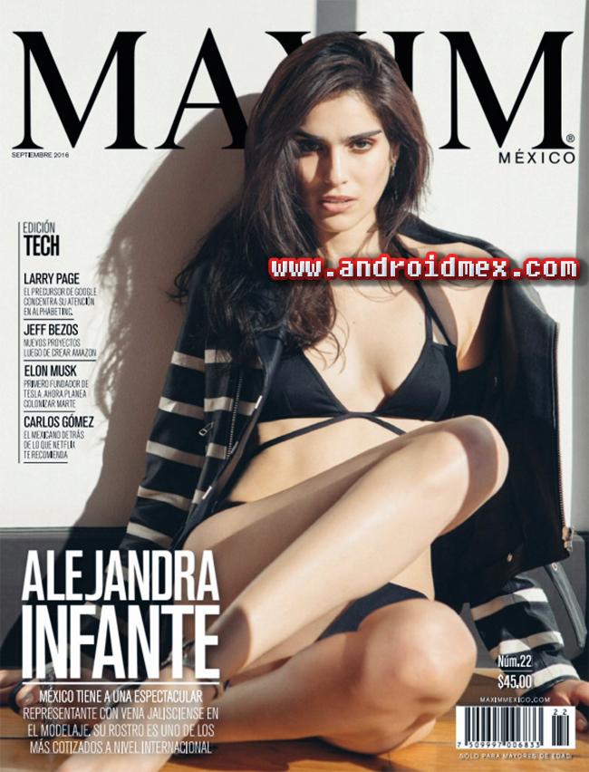 Maxim México - Septiembre 2016- Alejandra Infante