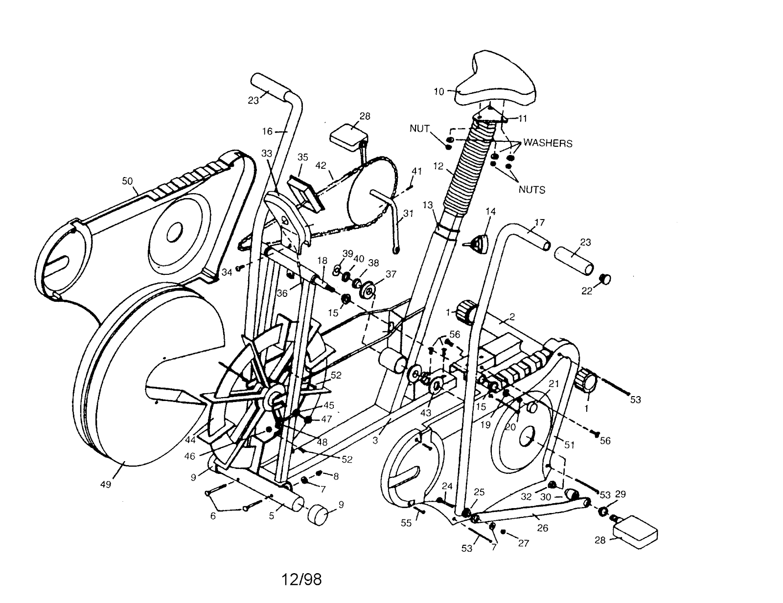 Diagram Showing Parts Of A Bicycle Best Electrical Circuit Wiring Bmx Bike Diagrams Huffy Trek