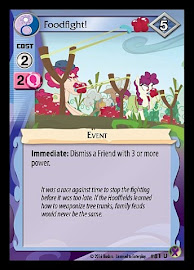 My Little Pony Foodfight! Marks in Time CCG Card