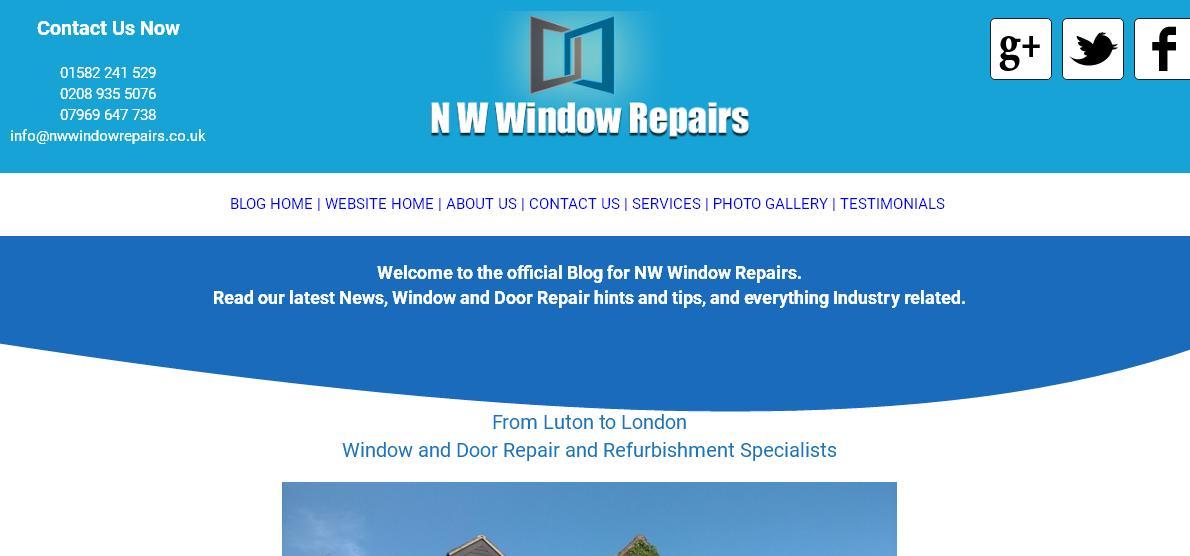 NW Window Repairs Blog