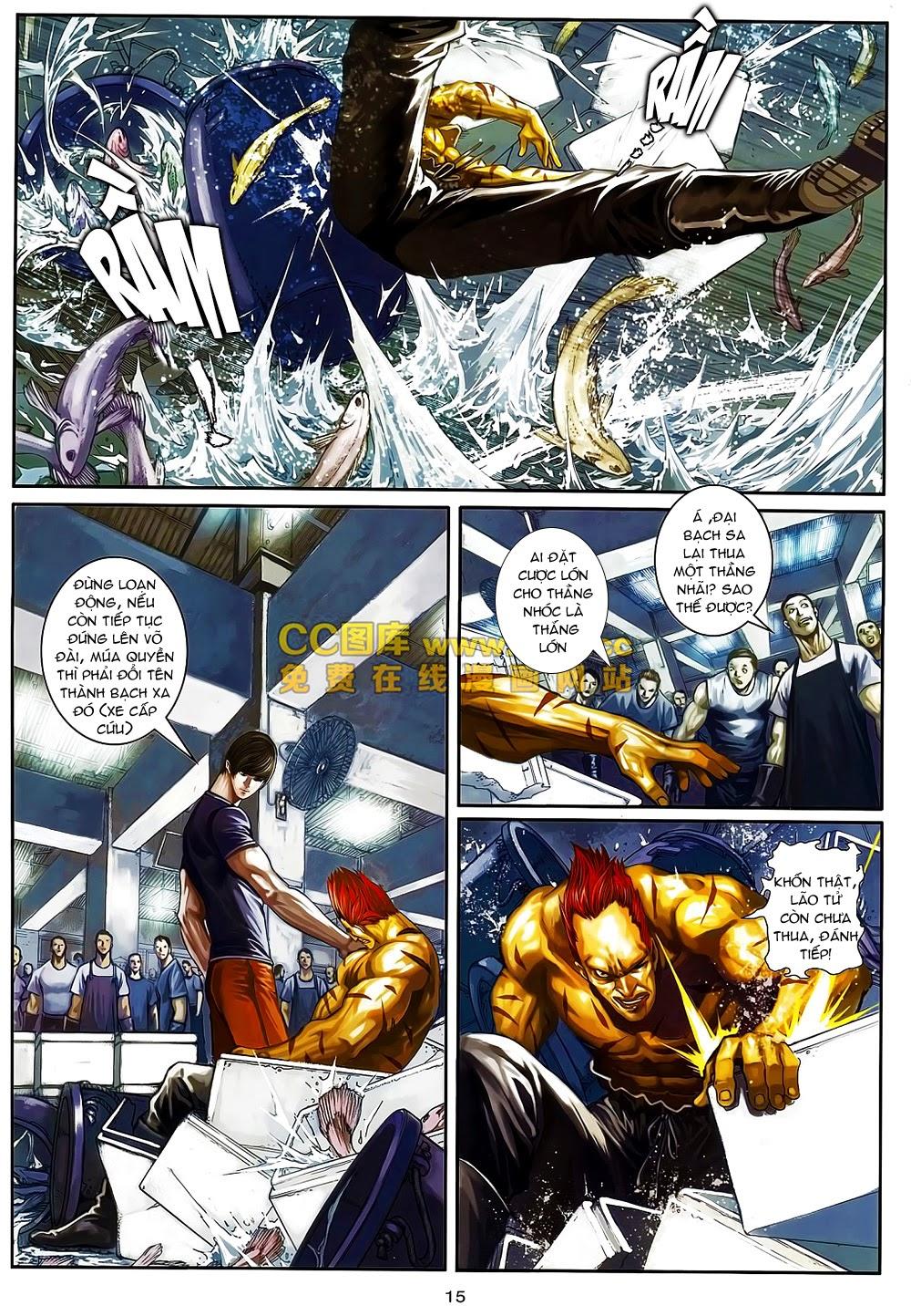 Quyền Đạo chapter 6 trang 15