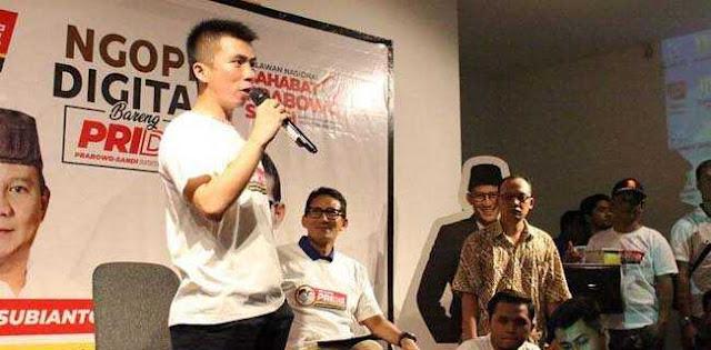Kubu Prabowo-Sandi Curiga Situs Skandal Sandiaga Dirilis Pendukung Jokowi, Ini Jejak Digitalnya
