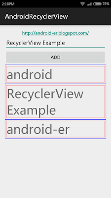 Android-er: Implement custom ItemDecoration for RecyclerView