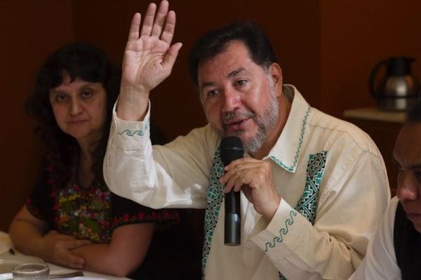 No seré candidato presidencial; recorreré el país para detener fraude contra AMLO: Noroña