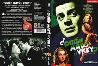 CARÁTULA: ¿ Quién mató a Vicky ? 1941