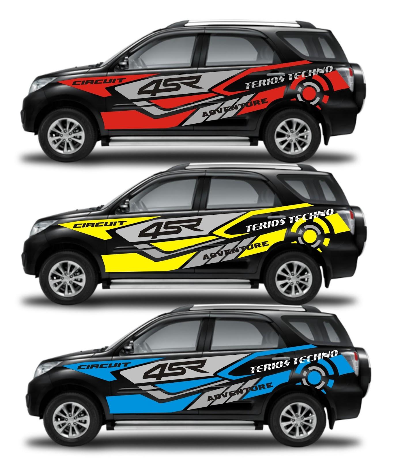 48 Top Populer Cutting Sticker Mobil Rush Terkini Otomotif