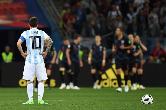 Hierro : Argentina Harus Kolaborasi Tim Bukan Salahkan Messi Semata-Mata