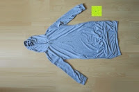 ausgepackt: Yidarton Frauen Lange Aermel Double Split Hoodie Pullover Pockets Sweater Kapuzenpullover