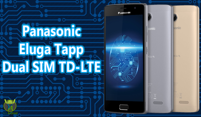 Panasonic Eluga Tapp Dual SIM TD-LTE Full Specs Datasheet