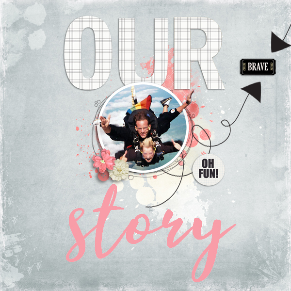 our story © sylvia • sro 2019 • sketch templates collection 67 & be amazing every day by lorieM designs