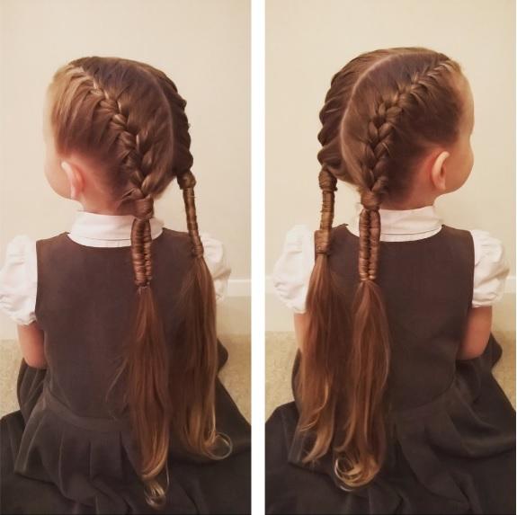 Smartcolor Peinados Para Ninas Sencillos Y Hermosos Que Hasta Papa
