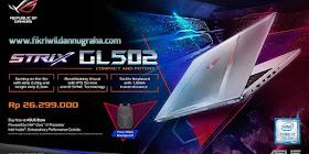 Review Asus ROG GL502VM Laptop Gaming Terbaik