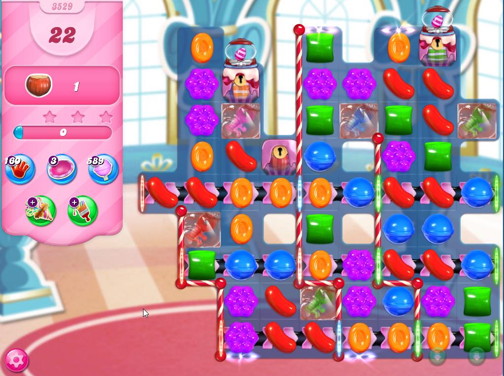Candy Crush Saga level 3529
