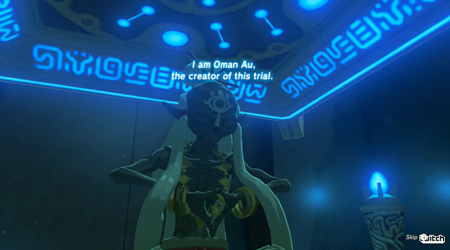 The Legend of Zelda: Breath of the Wild Oman Au Shrine