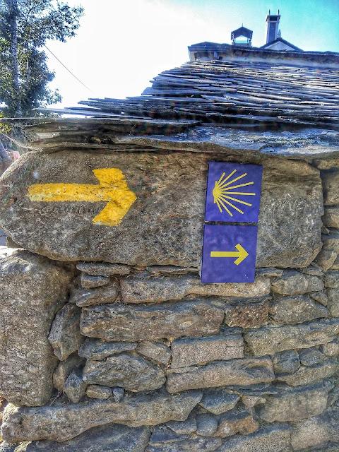 flecha amarilla Camino de Santiago