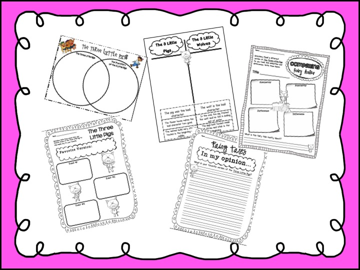 sarah s first grade snippets fairy tale unit Venn Diagram Generator
