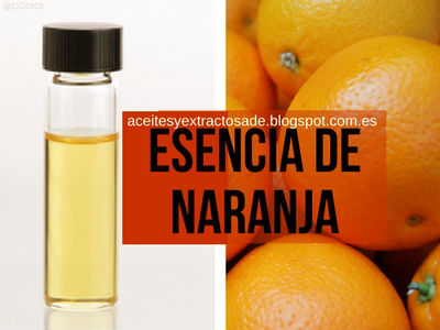Esencia o Aceite Esencial de Naranja Dulce, Propiedades Medicinales