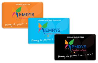 Les cartes EMRYS