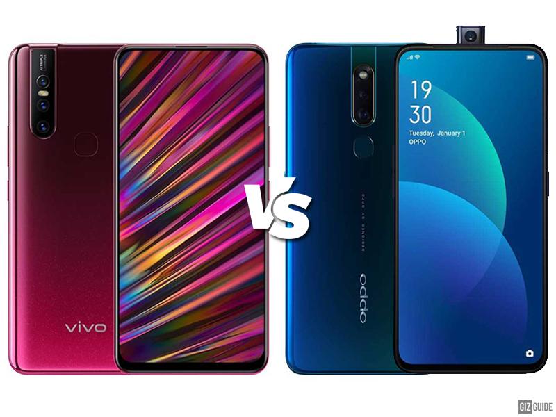 Vivo V15 vs OPPO F11 Pro Specs Comparison