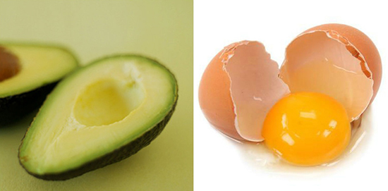 Cách trị nám da mặt bằng lòng trắng trứng kết hợp với quả bơ tươi