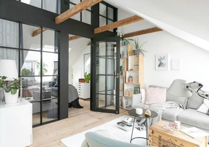 Ideas para inundar de luz natural estancias sin ventanas