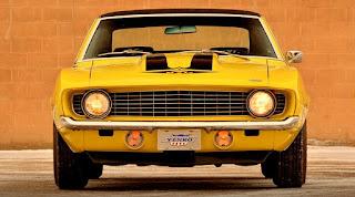 1969 Chevrolet Yenko Camaro Front Picture