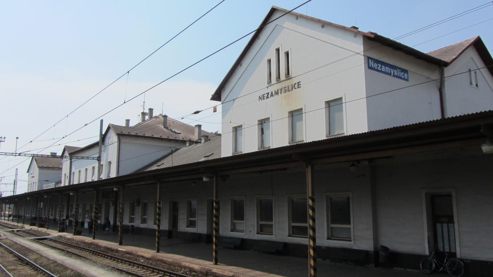 railway stations: Czech Republic: Nezamyslice