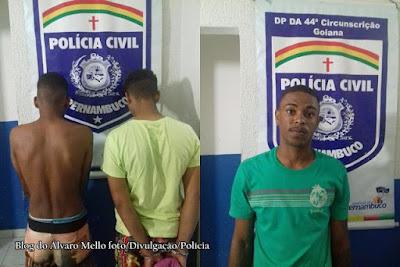 Goiana: Polícia apreende adolescentes suspeitos de matarem estudante em praça publica