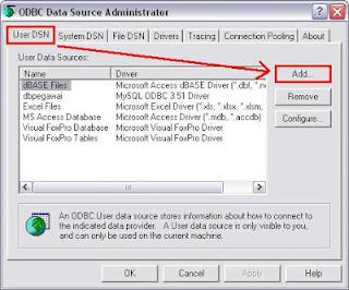 Cara Membuat Koneksi MySQL ODBC-3
