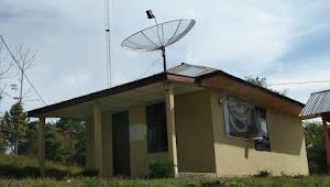 Tanpa Bendera, Pelayanan Kantor Desa Ini Hanya Buka Setengah Hari