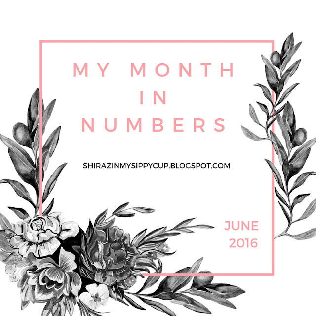 My Month in Numbers. #parenting #blogs #June