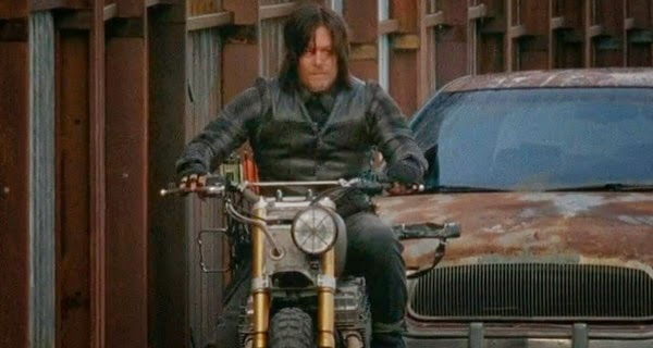 Daryl en The Walking Dead 5x14 - Spend