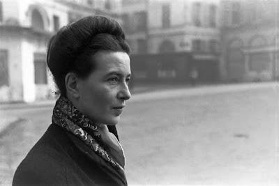 Πορτραίτο της Σιμόν ντε Μποβουάρ