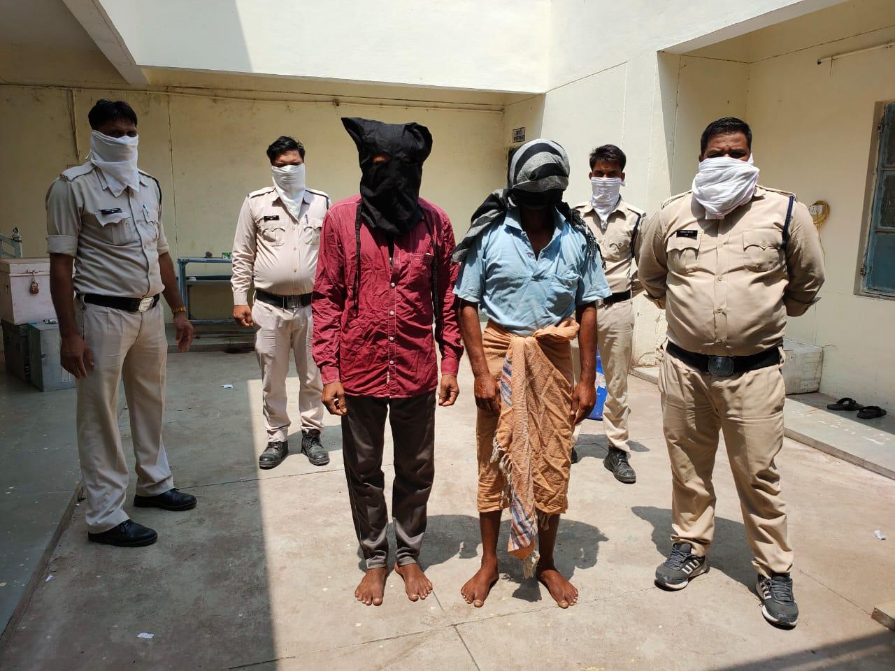 Jhabua News- लूट डकैती के कुख्यात आरोपी गिरफ्तार