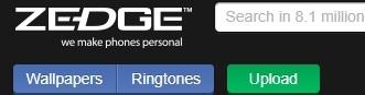 Zedge, excelente app para descargar fondos, ringtones y más a tu celular!