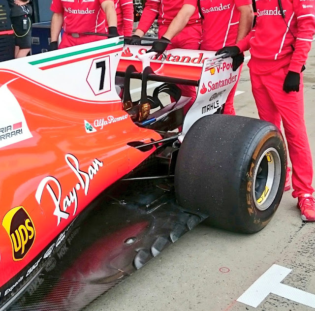 Ferrari SF70H Kimi Raikkonen - Foto Albert Fabrega
