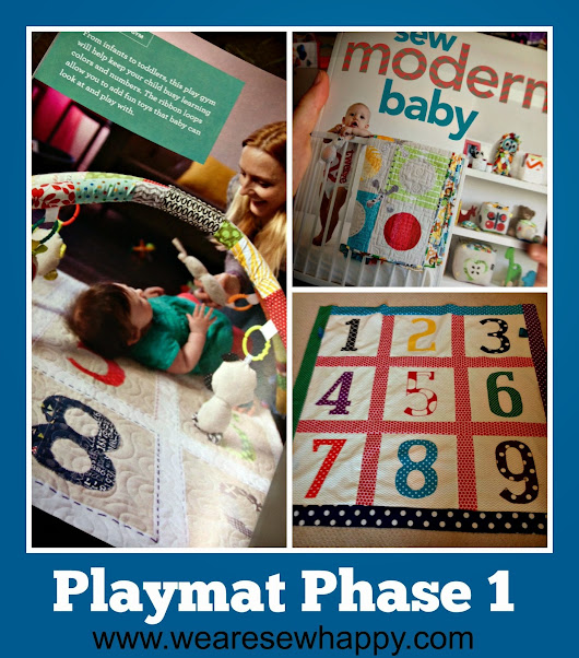 Playmat Phase 1 - Sew Modern Baby