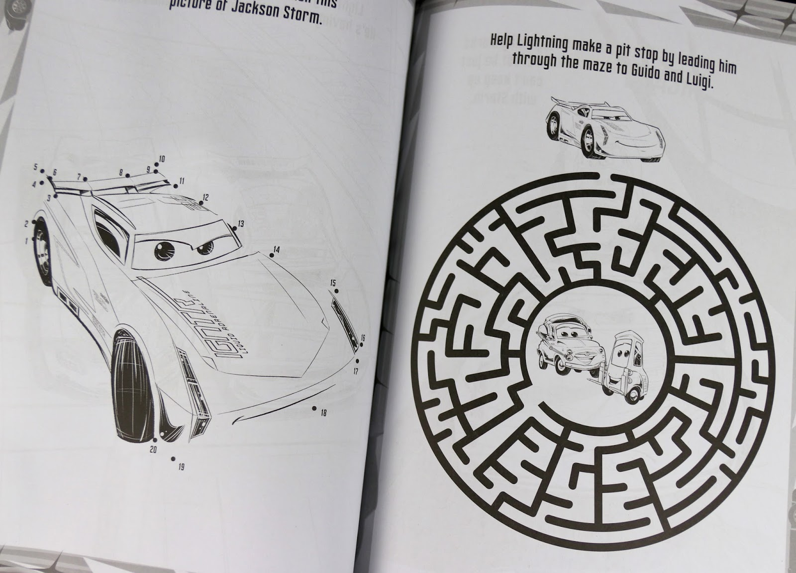 pixar cars 3 REV IT UP! COLOR ACTIVITY BOOK