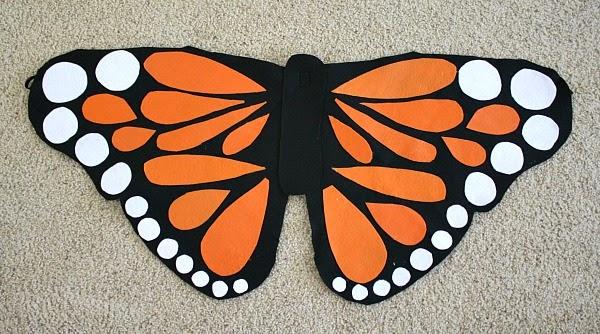 La Reines Blog Schmetterling Kostüm Selber Machen